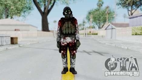 Black Mesa - Wounded HECU Marine v1 для GTA San Andreas второй скриншот