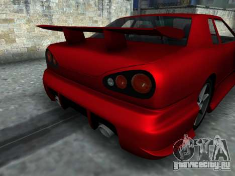 Elegy PFR v1.0 для GTA San Andreas вид сзади
