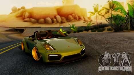Porsche Boxster GTS LB Work для GTA San Andreas