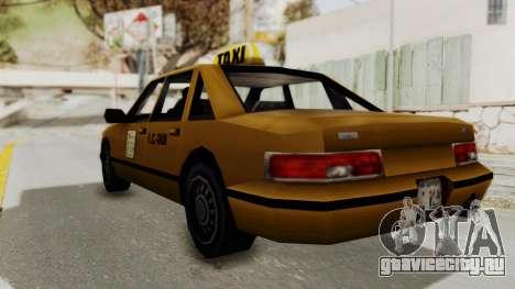 GTA 3 - Taxi для GTA San Andreas вид слева