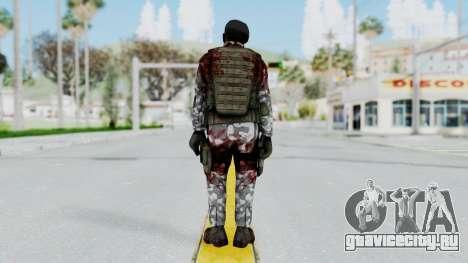 Black Mesa - Wounded HECU Marine Beret для GTA San Andreas третий скриншот