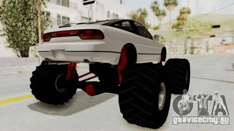 Nissan 240SX Monster Truck для GTA San Andreas вид слева