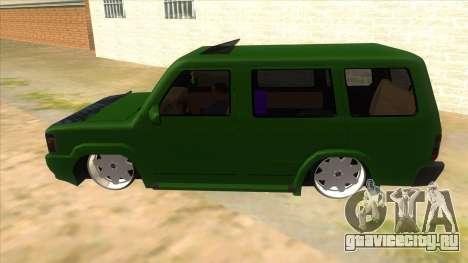 Toyota Kijang Grand Extra IKC для GTA San Andreas вид слева