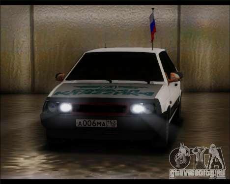 Ваз 2108 Боевая Классика для GTA San Andreas