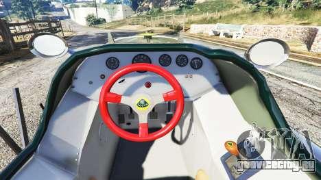 Fiat Mefistofele для GTA 5 вид сзади справа