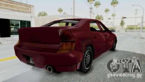 GTA 3 Kuruma для GTA San Andreas вид слева