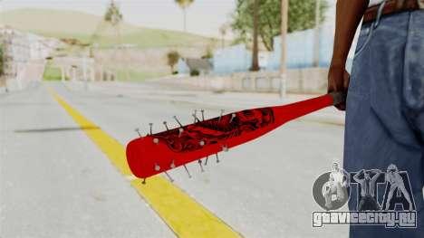 Nail Baseball Bat v2 для GTA San Andreas