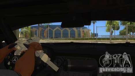 Mercedes Benz SLS AMG GT3 для GTA San Andreas вид снизу