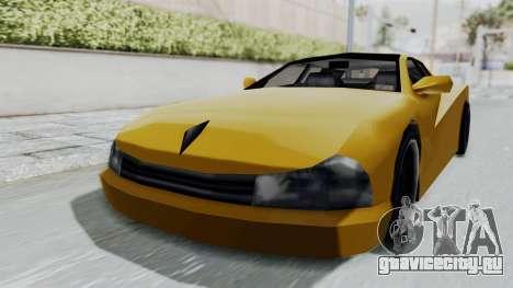 Cheetah ZTR v1 для GTA San Andreas вид сзади слева