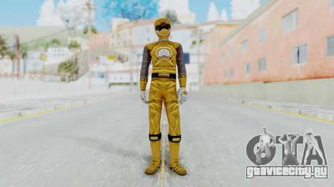 Power Rangers Ninja Storm - Yellow для GTA San Andreas второй скриншот