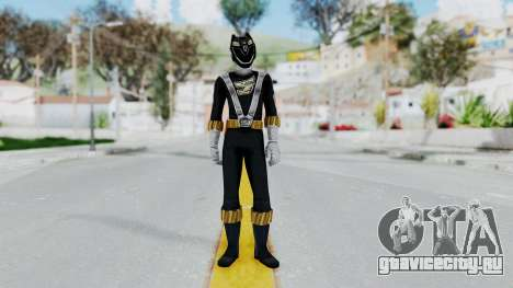 Power Rangers RPM - Black для GTA San Andreas второй скриншот