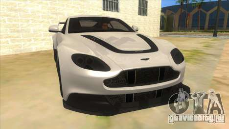 2015 Aston Martin Vantage GT12 для GTA San Andreas вид сзади