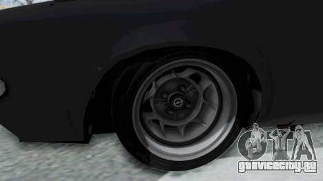 Opel Manta B1 CC для GTA San Andreas вид сзади