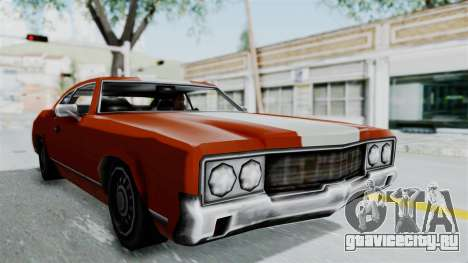 GTA Vice City - Sabre Turbo (Unsprayable) для GTA San Andreas