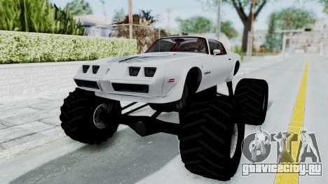Pontiac Firebird Trans Am Monster Truck 1980 для GTA San Andreas