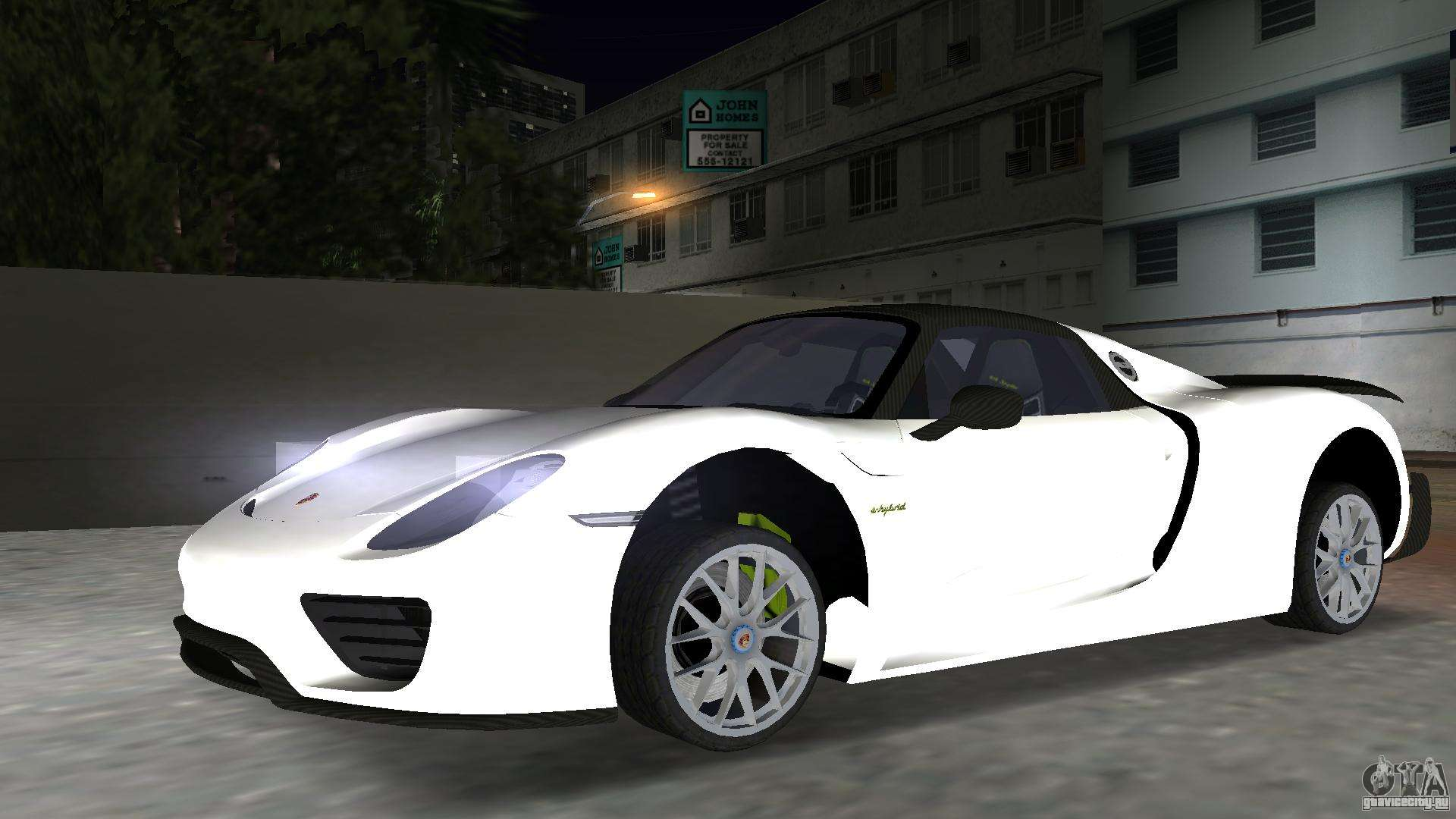 2016 porsche 918 spyder weissach package gta vice city. Black Bedroom Furniture Sets. Home Design Ideas