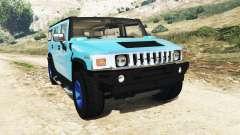 Hummer H2 2005 [без тонировки] v2.0