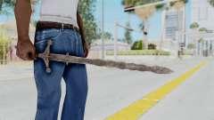 Skyrim Iron Claymore для GTA San Andreas