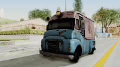 Hitman Absolution - Ice Cream Van для GTA San Andreas