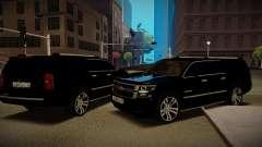 Chevrolet Suburban 2015 Прокуратура для GTA San Andreas