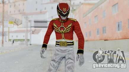 Power Rangers Megaforce - Red для GTA San Andreas