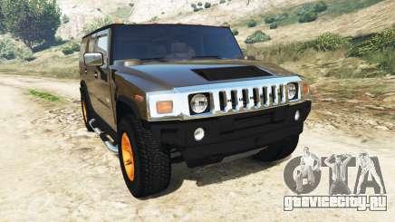 Hummer H2 2005 [с тонировкой] v2.0 для GTA 5