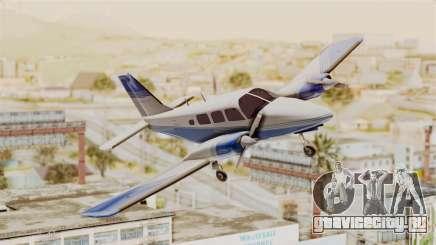 Piper Seneca II v2 для GTA San Andreas