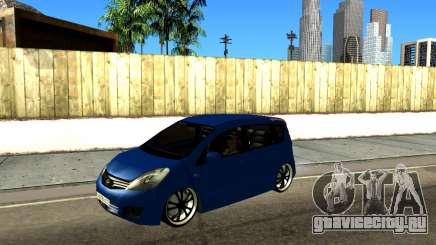 Nissan Note KURMIN StreetRacer для GTA San Andreas