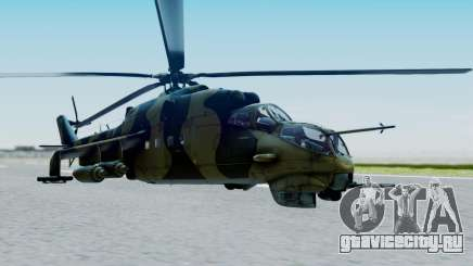 Mi-24V Sri-Lanka Air Force CH621 для GTA San Andreas