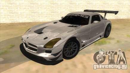 Mercedes Benz SLS AMG GT3 для GTA San Andreas
