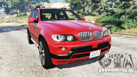 BMW X5 (E53) 2005 для GTA 5