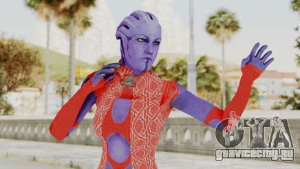 Mass Effect 3 Aria TLoak Dress для GTA San Andreas