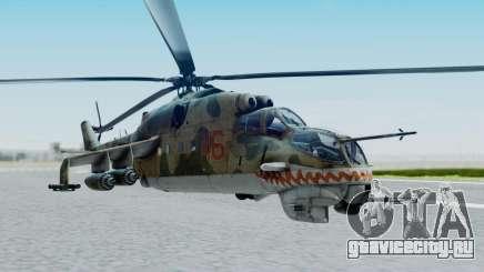 Mi-24V Russian Air Force 46 для GTA San Andreas