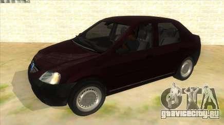 Dacia Logan V2 Final для GTA San Andreas