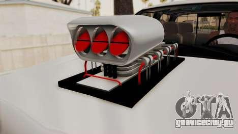 Chevrolet Silverado 2011 Monster Truck для GTA San Andreas вид сзади