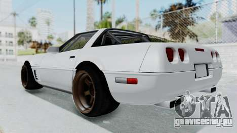 Chevrolet Corvette C4 Drift для GTA San Andreas вид справа