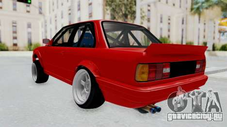 BMW M3 E30 Rocket Bunny Drift Style для GTA San Andreas вид слева