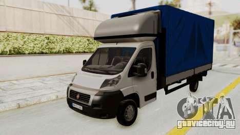 Fiat Ducato Work Van v2 для GTA San Andreas