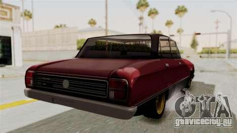 Ford Falcon Sprint для GTA San Andreas вид справа