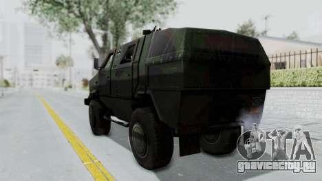 ATF Dingo для GTA San Andreas вид слева