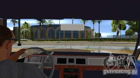 Mercury Grand Marquis 1986 v1.0 для GTA San Andreas вид изнутри