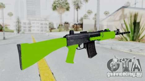 IOFB INSAS Light Green для GTA San Andreas второй скриншот