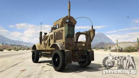 Oshkosh M-ATV 0.01 для GTA 5