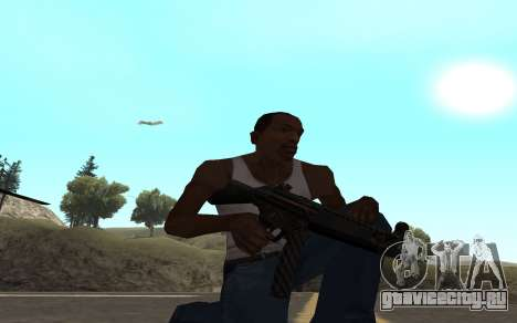 Redline weapon pack для GTA San Andreas седьмой скриншот