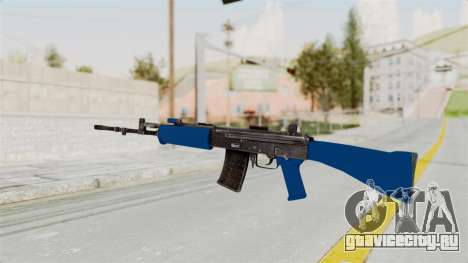 IOFB INSAS Dark Blue для GTA San Andreas второй скриншот