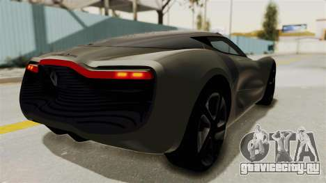 Renault Dezir Concept для GTA San Andreas вид слева
