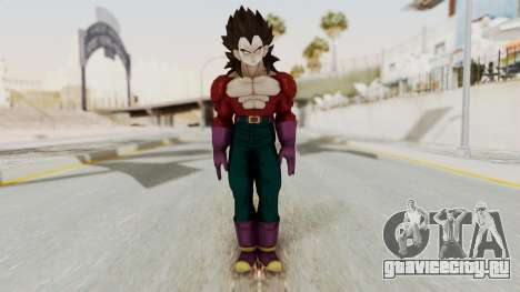 Dragon Ball Xenoverse Vegeta SSj4 для GTA San Andreas второй скриншот