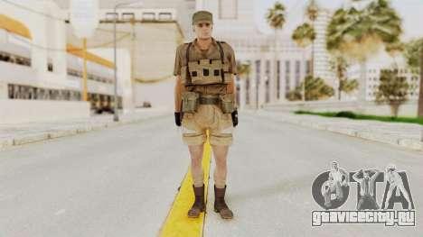 MGSV Phantom Pain CFA Combat Vest 1 v2 для GTA San Andreas второй скриншот