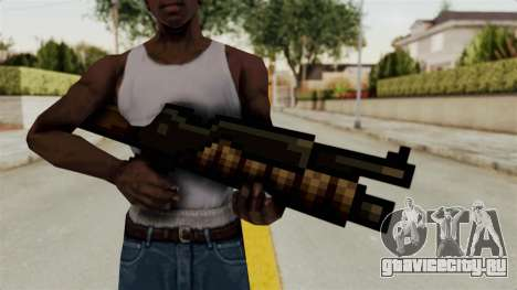 Heavy Machinegun from Metal Slug для GTA San Andreas третий скриншот