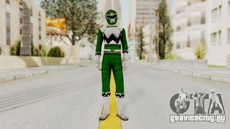 Power Rangers Lost Galaxy - Green для GTA San Andreas второй скриншот